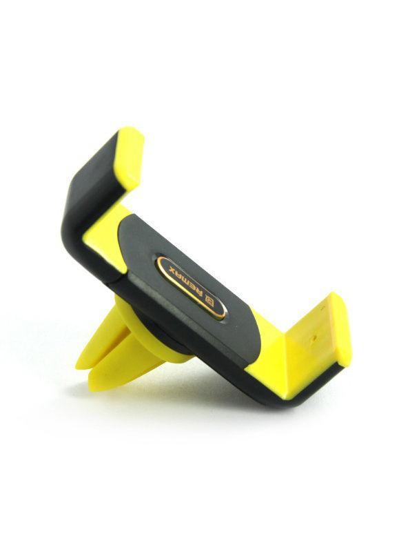 Автомобильная подставка Remax RM-C01 Black-Yellow (на обдув)