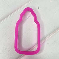 Вырубка пластиковая Бутылочка 9см