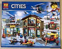 Конструктор Lari Cities 11451 Горнолыжный курорт