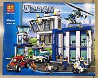 Конструктор Lari Cities 10424 Полицейский участок