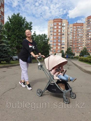 Коляска прогулочная Happy Baby LUNA Pink