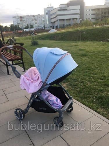 Коляска прогулочная Happy Baby LUNA blue
