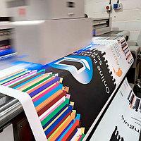 Широкоформатная печать на различных материалах