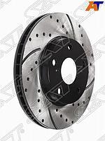 Комплект дисков тормозных передний перфорированные TOYOTA Mark /Cresta JZX9# /10# /11#, GX105 /11#,