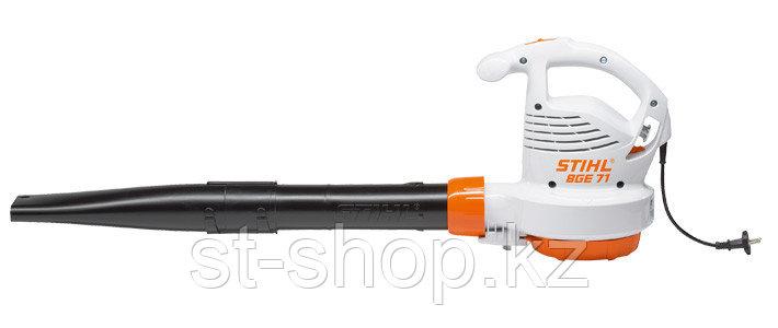 Воздуходувное устройство STIHL BGE 71 (1,1 кВт   670 м3/ч   66 м/с) электрическое