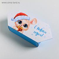 Сборная коробка конфета «Новый год», 18 × 28 × 10 см