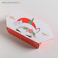 Сборная коробка конфета «Волшебного праздника», 18 × 28 × 10 см