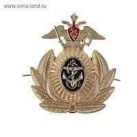 Кокарда офицера ВМФ, 6 × 6,5 см