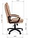 Кресло Chairman 668 LT, фото 8