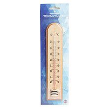 Термометр сувенирный деревянный Д-7 Стеклоприбор
