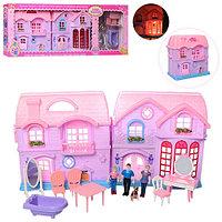 8067 Домик с мебелью Pink House 71*27см
