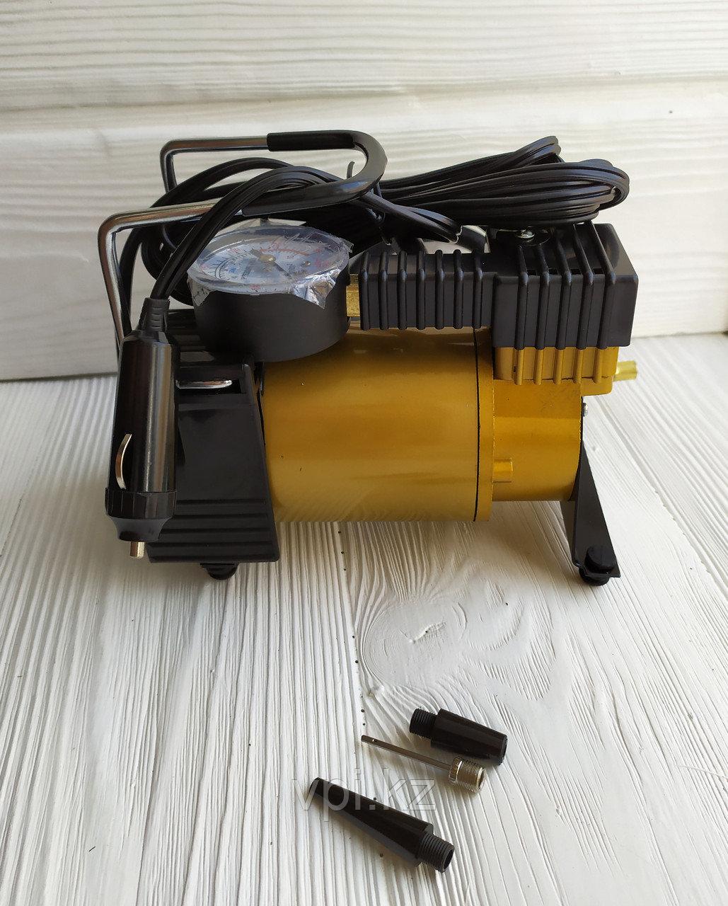 Компрессор автомобильный 1-цилиндровый в сумке, 12В, 10АТМ, AC580, TORNADO