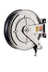 Катушка для дизельного топлива неповоротная из нержавеющей стали AISI 304 Meclube 10 БАР