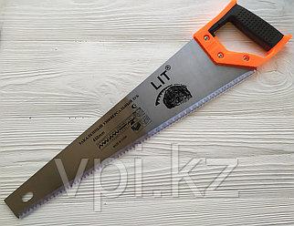 Ножовка по дереву, каленый зуб  tpi-8,  450мм.   LIT