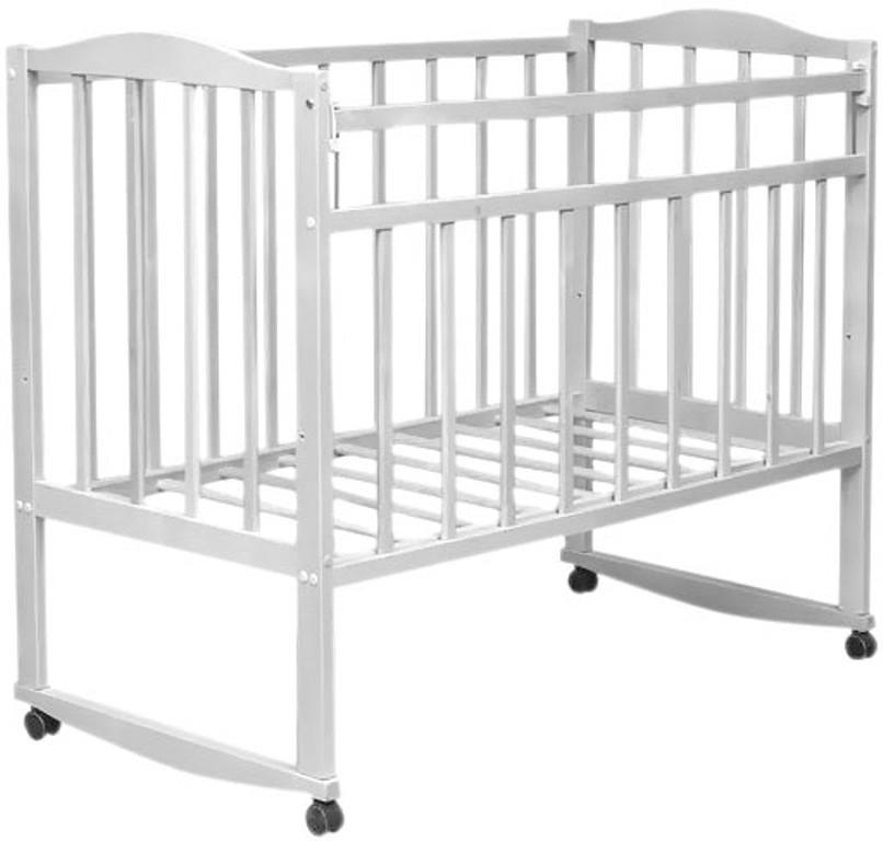 Кровать детская Magico mini (к/к, от пл, Кр 1 -02м) белый ВДК