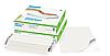 Самоклеящаяся пленка, Белая глянцевая непрозрачная, для лазерной печати, 32*45 см (SRA3), 250 листов