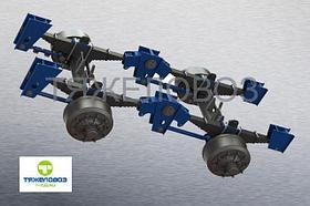 Подвеска рессорно-балансирная двухосная РБП2/400/1550