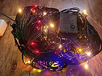 """Гирлянда """"Классика"""", черный провод, разноцветная, 50м, фото 1"""