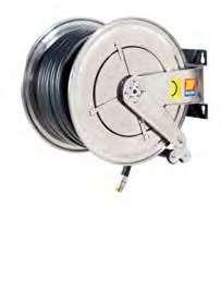 Катушка для дизельного топлива неповоротная из нержавеющей стали AISI 304 FX-560 Meclube 10 БАР
