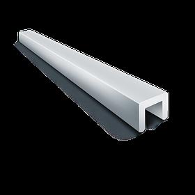 Швеллер алюминиевый 40х80х40х4