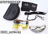 Очки спортивные, Тактические очки OAKLEY 4, линзы с поляризацией