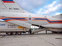 ФЛАГМАН-60 — бетонный завод от ZZBO, был погружен на борт самолёта ИЛ-76.