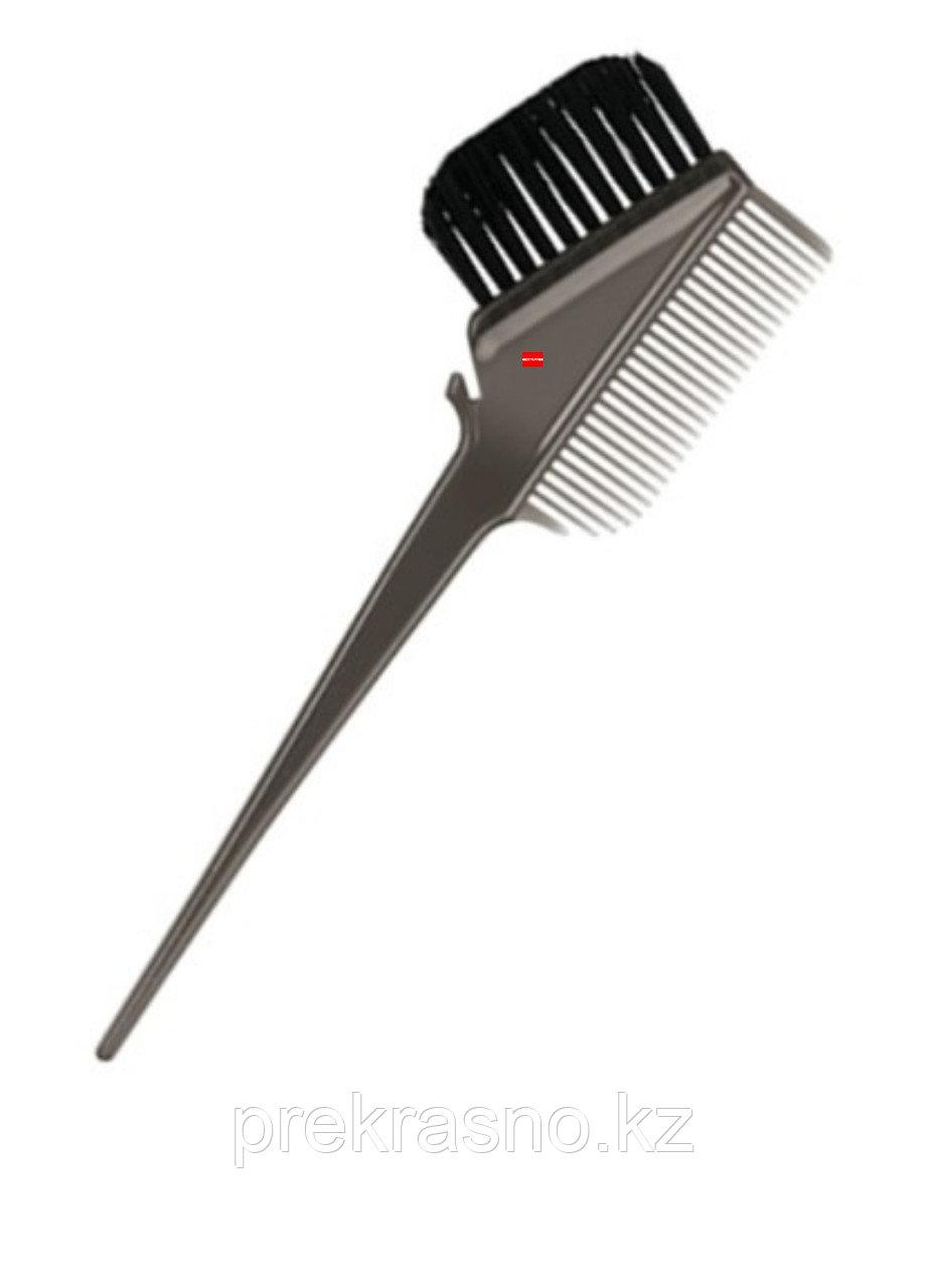 Кисть для окрашивания волос серая