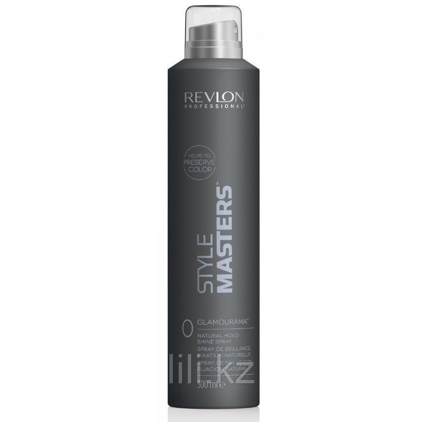 Спрей естественной фиксации с ультра блеском Revlon Style Masters Shine Spray Glamourama 300 мл.