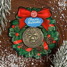 Рождественская монета-талисман «Колокольчики»