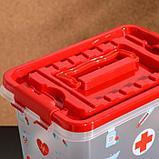 Аптечка «Доктор+», 4 л, прямоугольная, рисунок МИКС, фото 3