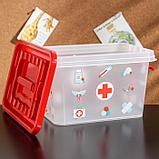 Аптечка «Доктор+», 4 л, прямоугольная, рисунок МИКС, фото 5