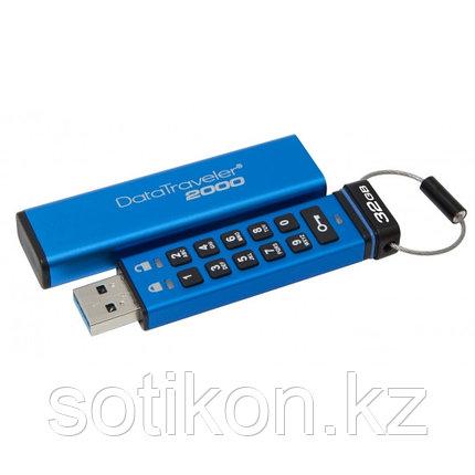 USB Флеш 32GB 3.1 Kingston DT2000/32GB металл, фото 2