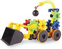 Развивающий конструктор Gears «Веселые шестеренки. Экскаватор»  Learning Resources, фото 1