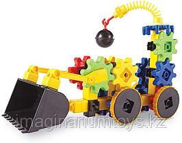 Развивающий конструктор Gears «Веселые шестеренки. Экскаватор»  Learning Resources
