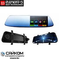 Видеорегистратор Зеркало Element-5 T74 с 2 Камерами / ОРИГИНАЛ