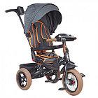 Велосипед Mars Trike MINI TRIKE ДЖИНС черный