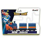 Паровозик с двумя вагонами Виктор Robot Trains