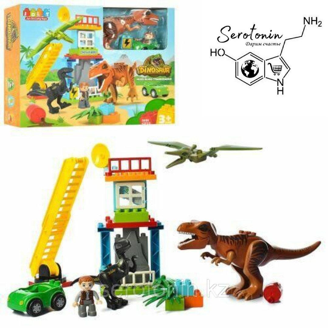 Конструктор-динозавр 43 детали