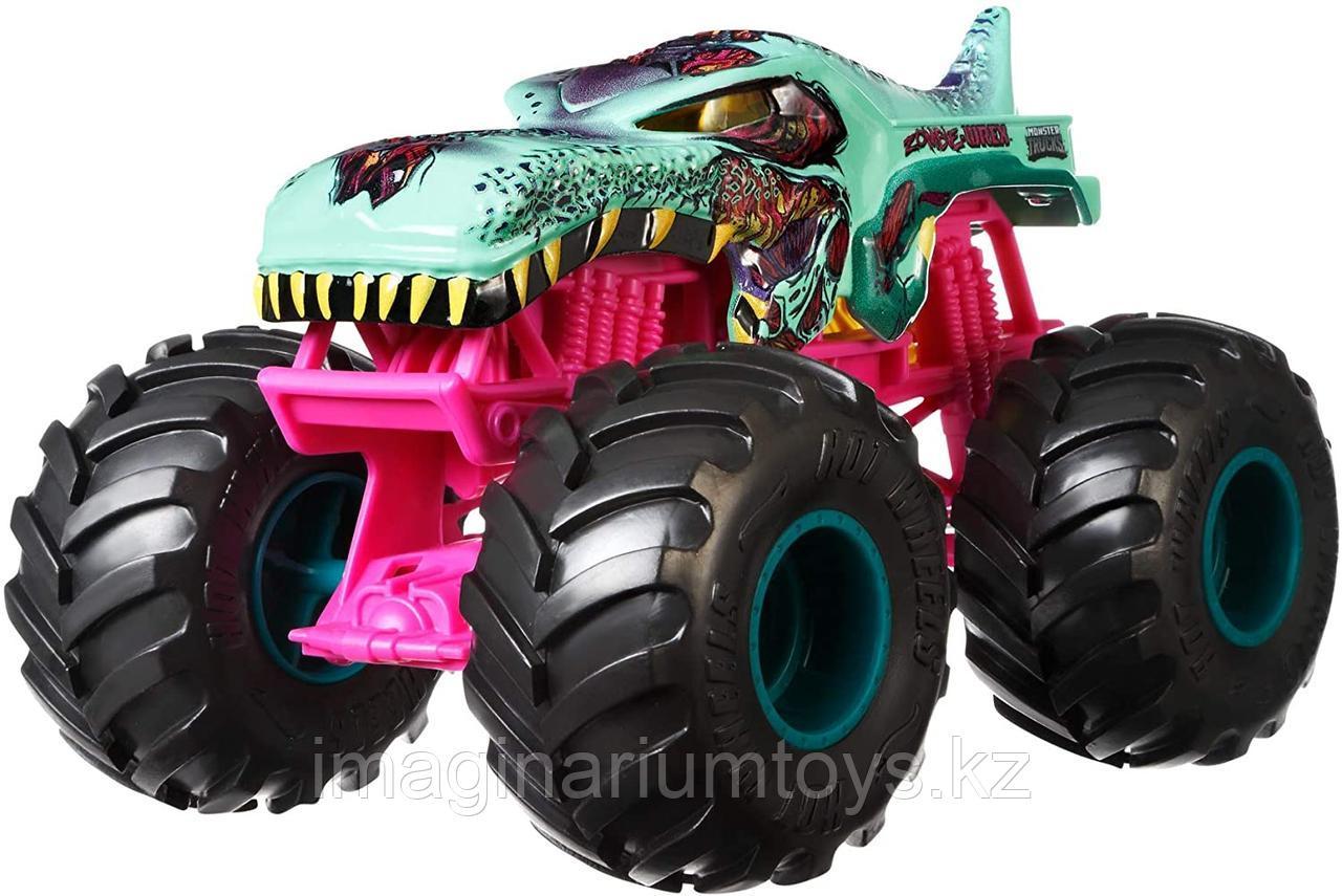 Машинка Джип Монстр Трак Monster Trucks Zombie Wrex, масштаб 1:24
