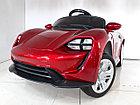 Детский электромобиль Porsche Taycan Red. Рассрочка. Kaspi RED., фото 4