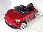 Детский электромобиль Porsche Taycan Red. Рассрочка. Kaspi RED., фото 5