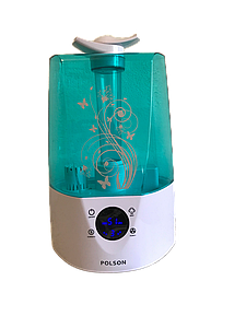 Ультразвуковой увлажнитель воздуха POLSON 3.2 л с гигрометром