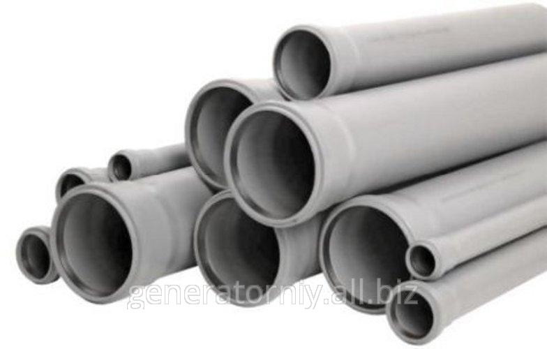 Трубы канализационные ПВХ. Диаметр - 150. Толщина - 4 DENIZ (3х метровые) - фото 1