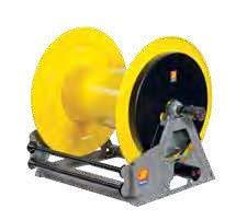 Промышленная катушка без шланга с гидравлическим приводом для густых смазок 400 БАР MI-650 Meclube