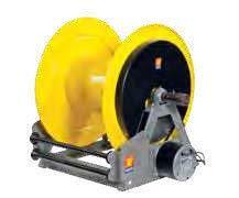Промышленная катушка без шланга с электрическим приводом для смазки 400 БАР Meclube