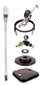 Насосные агрегаты для раздачи масла Mini Fire-Ball 225 3:1