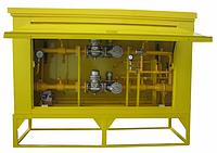 Газорегуляторный пункт шкафной ГРПШ - 07-1У1 с регулятором РДНК 1000