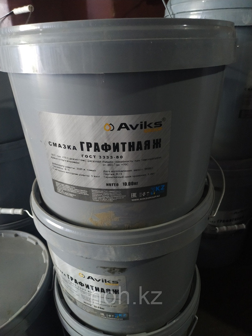 Смазка Графитная ГОСТ 3333-80 ведро 5 кг