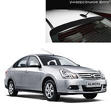 Козырек на заднее стекло для Nissan Almera (G11/G15) (2012-)