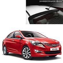 Козырек на заднее стекло для Hyundai Solaris/Accent седан (2011-2017)